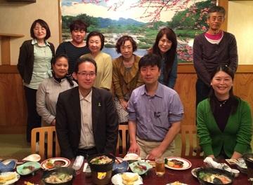 グループ・ネクサス・ジャパン長野支部懇親会にて森先生を囲んで