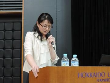 半澤江衣先生(北海道大学病院がん看護専門看護師)