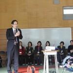 千葉県立松尾高校における健康セミナー(がん教育)での講演のご報告
