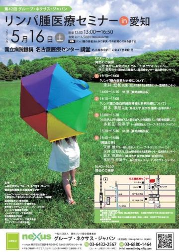 第42回グループ・ネクサス・ジャパンリンパ腫医療セミナー(愛知)