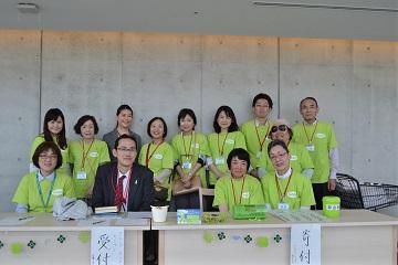 グループ・ネクサス・ジャパン役員や当日ボランティアの皆さま