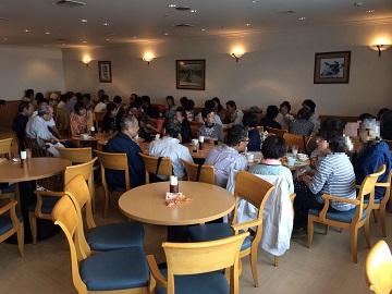 グループ・ネクサス・ジャパン東京お茶会の様子(プライバシー保護のため一部修正しています)