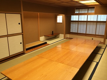 神奈川近代文学館会議室(和室)(港が見える丘公園内)