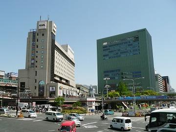 神戸三ノ宮駅周辺