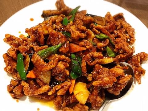 黒酢酢豚(京華樓)